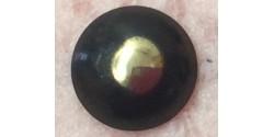 Ruban accrocheur mâle femelle noir vendus ensemble 20 mm