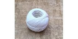 Ficelle à piquer blanche lin